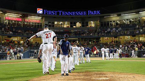 Nashville Sounds Net Second Straight Series Win. (Nashville Sounds)
