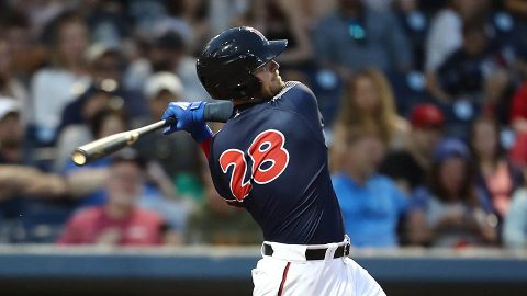 Nashville Sounds Six-Run Sixth Inning Leads to Win Over New Orleans Baby Cakes at First Tennessee Park Thursday night. (Nashville Sounds)