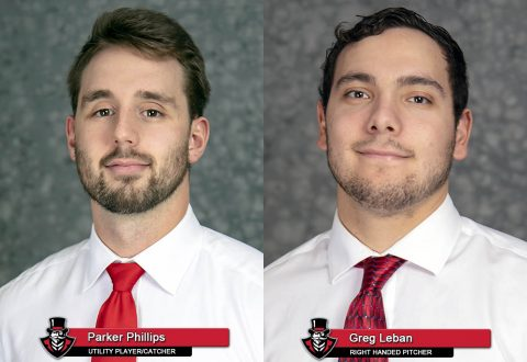 APSU Baseball's Parker Phillips and Greg Leban