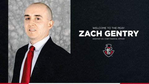 Austin Peay Athletics Chief Financial Officer Zach Gentry. (APSU Sports Information)