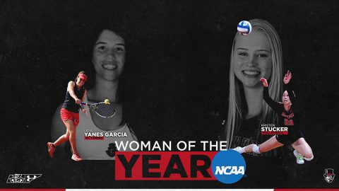 Austin Peay Sports graduates Kristen Stucker, Lidia Yanes Garcia nominated for NCAA Woman of the Year. (APSU Sports Information)