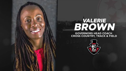 Austin Peay State University Track and Field, Cross Country head coach Valerie Brown (APSU Sports Information)