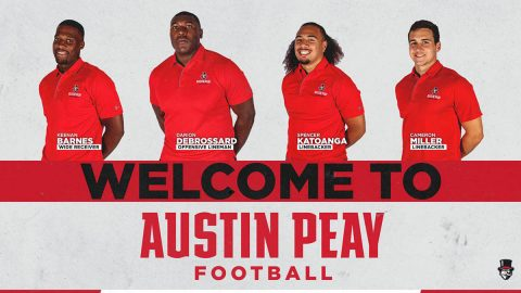 Austin Peay football adds Keenan Barnes, Cameron Miller, Darion DeBrossard, and Spencer Katoanga to 2019 roster. (APSU Sports Information)