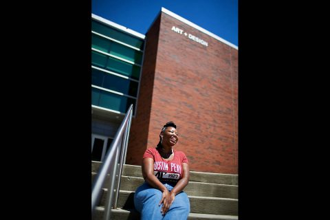 Ashanté Kindle will start graduate school at the University of Connecticut in the fall. (APSU)
