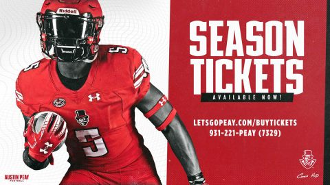Austin Peay State University ticketing office is now accepting new season ticket inquiries for the 2019 football season. (APSU)