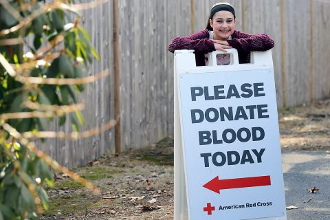 A blood shortage postponed open-heart surgery for Jacqueline Rogers when she was 8 years old. Luckily, donors came forward and she was able to have surgery. (American Red Cross)