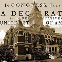 Annual reading of The Declaration of Independence
