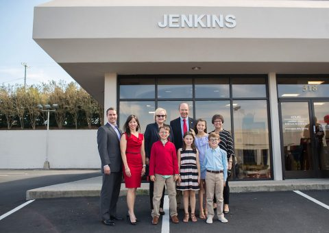 Jenkins Family creates two new Austin Peay State University scholarships. (APSU)