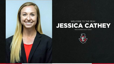 Austin Peay State University Women's Golf head coach Jessica Cathey. (APSU Sports Information)