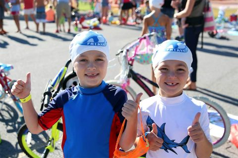 Clarksville Parks and Recreation Wonder Kids Triathlon event invites children ages 3-12 of all ability levels.