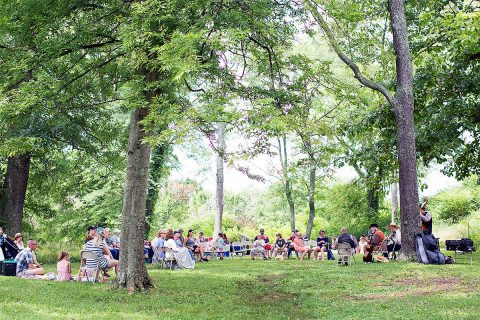 Pack a picnic lunch and enjoy live music at Fort Defiance Civil War Park this Saturday.