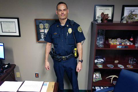 Clarksville Police Captain Scott Thornton