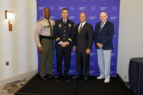 Captain Ty Burdine with the Clarksville Police Department recently graduated from the Northwestern School of Police Staff and Command hosted in Nashville.