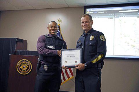 Clarksville Police Officer Shavell Lucas.