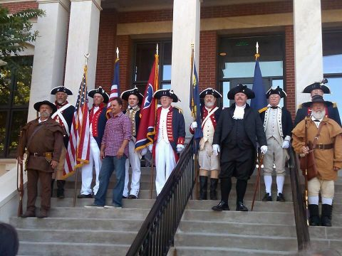 Annual reading of The Declaration of Independence to be held on the steps of the Montgomery County Courthouse, July 4th.