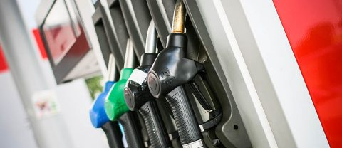 Jump in gasoline demand drives down stock. (AAA)
