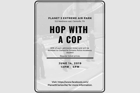 """Hop with a Cop"" set for June 14th."