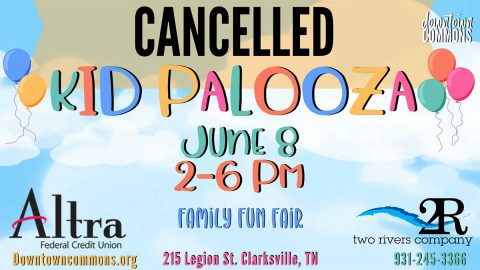 Kid Palooza at Downtown Commons cancelled