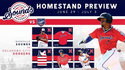 Nashville Sounds Homestand - June 29-July 3, 2019