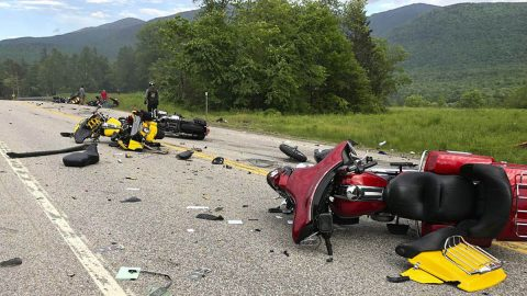 New Hampshire Motorcycle Accident. (LA Times)