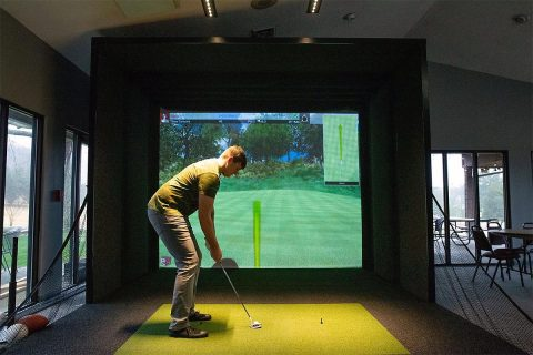 Swan Lake Golf Simulator