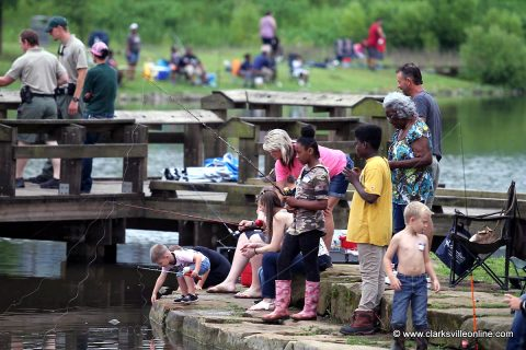 Tennessee Wildlife Resource Agency held its annual Fishing Rodeo at Liberty Park on Saturday, June 8th, 2019.