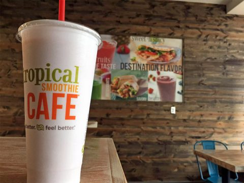 Tropical Smoothie Cafe located at 1825 Madison Street opens this Friday.