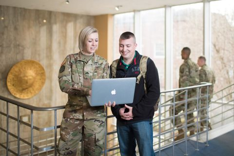 In the agreement, Austin Peay State University will cover the up-front tuition of eligible students, and the National Guard will reimburse Austin Peay through the Tennessee STRONG Act. (APSU)