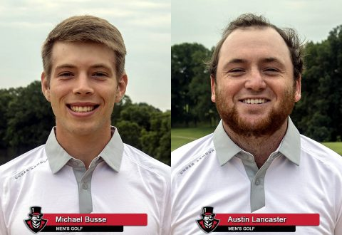 Austin Peay Men's Golf - Michael Busse and Austin Lancaster. (APSU Sports Information)