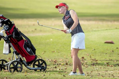 Austin Peay Women's Golf head coach Jessica Cathey's first season to take Govs through rigorous schedule. (APSU Sports Information)