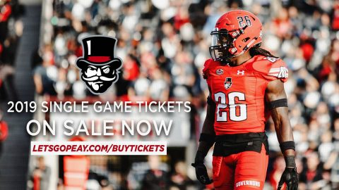 Austin Peay announces single game tickets now on sale for APSU Football. (APSU Sports Information)