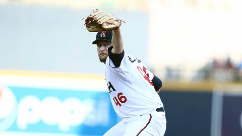 Nashville Sounds Pitchers Allow Five Home Runs in Setback against Oklahoma City Dodgers. (Nashville Sounds)