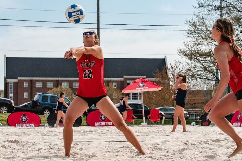 Austin Peay State University Beach Volleyball team to join Ohio Valley Conference for 2020 season. (APSU Sports Information)