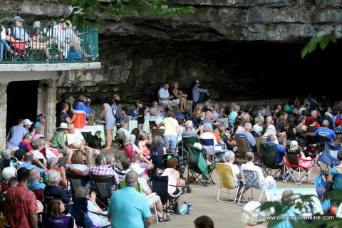 Friends of Dunbar Cave hosted its annual Cooling at the Cave, with a live musical performance by Clarksville's own Cumberland Winds Jazz Project.