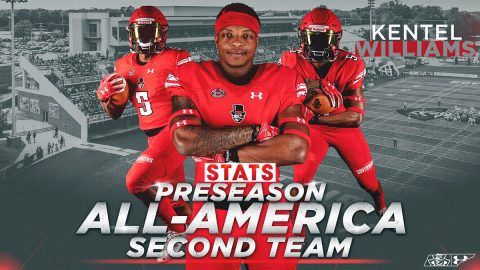 Austin Peay Football running back Kentel Willams named STATS FCS Preseason Second-Team All-America. (APSU Sports Information)