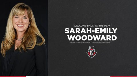 Austin Peay Track and Field assistant coach Sarah-Emily Woodward. (APSU)
