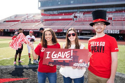 Austin Peay State University's GovsGive campaign surpassed its goal for the third consecutive year, collecting $225,000. (APSU)