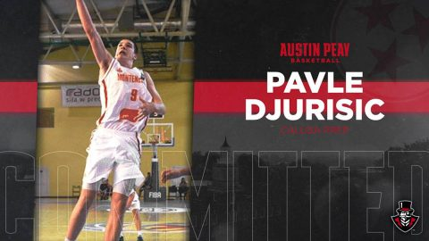 Austin Peay Basketball adds Pavle Djurisic for 2019-2010. (APSU Sports Information)