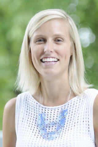 Outstanding Young Alumni Award recipient Catie Clinard ('11)