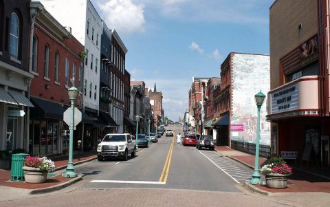 An AARP Community Challenge Grant will help Clarksville install a Walkable Downtown project to provide signage show estimated walk times to destinations in the City's core.