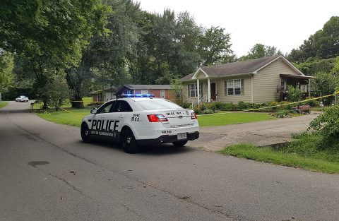 Clarksville Police investigating a homicide at at 5 Garth Drive.