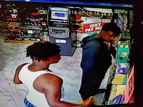 Clarksville Police are working to identify the two suspects in this photo.