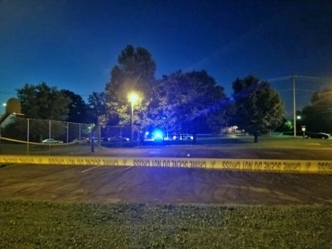 Adriam Hodge was charged by Clarksville Police for the shooting death of Kendrick Grayer that occurred Thursday night at a basketball court on Eight Street.