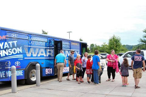 Clarksville Transit System Patrons ride free Wednesday, July 3rd.