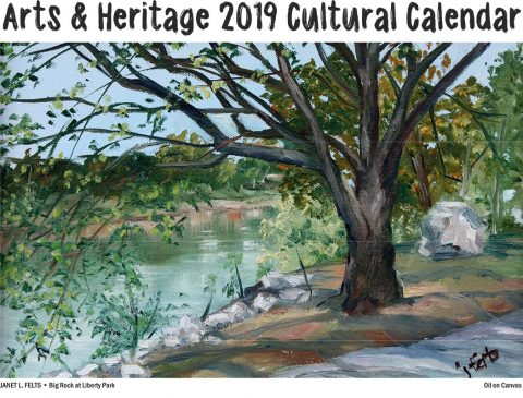 Artwork Submissions wanted for 2020 Arts & Heritage Cultural Calendar