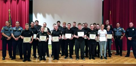 Montgomery County Sheriff's Office congratulates Explorers Post 600 for graduating from the Explorer Academy.