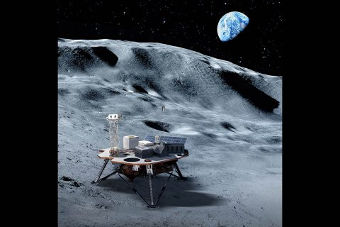 Commercial landers will carry NASA-provided science and technology payloads to the lunar surface, paving the way for NASA astronauts to land on the Moon by 2024. (NASA)
