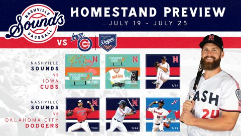 Paradise at the Park Weekend and Christmas in July Highlight Nashville Sounds Homestand. (Nashville Sounds)