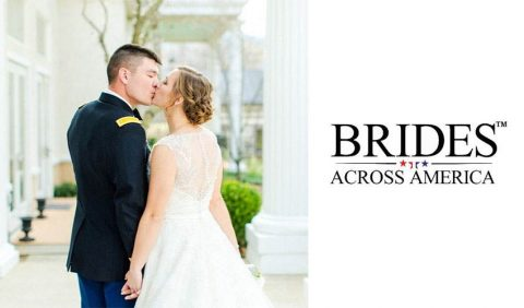 Operation Wedding Gown at BRIDES by Glitz in conjunction with Brides Across America to offer free wedding dresses to all active military, veterans and first responder brides.