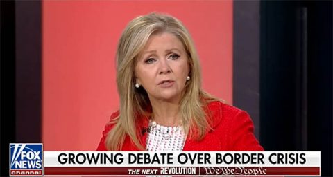 U.S. Senator Marsha Blackburn on Fox News.